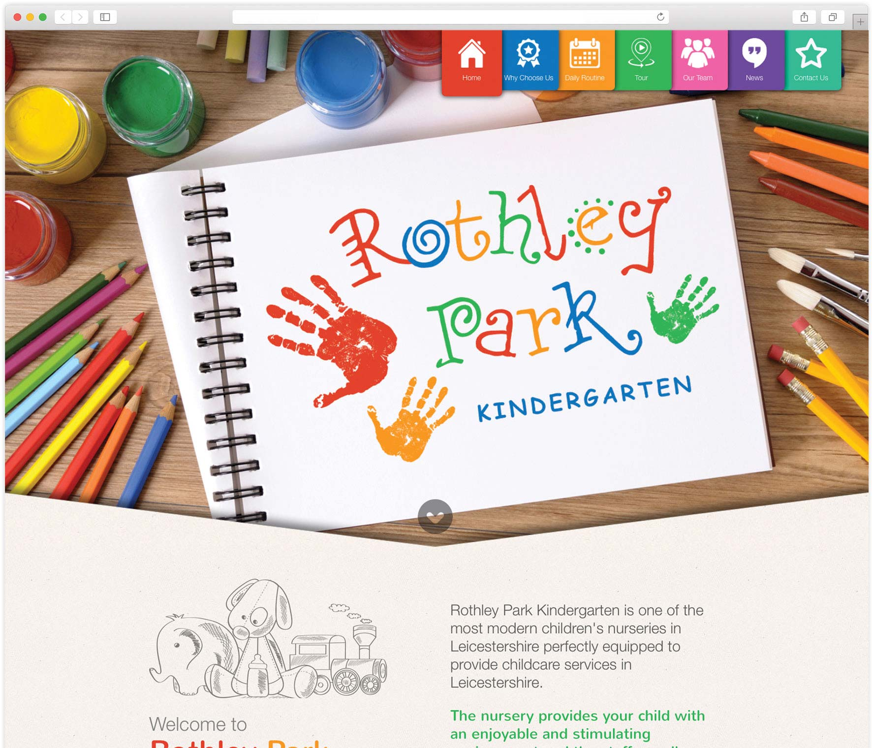 Portfolio Header Browser Rothley